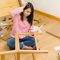как самому собрать мебель