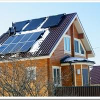 Подбор солнечных батарей для загородного дома