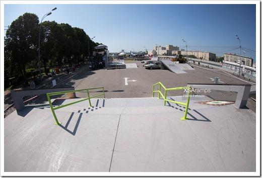 Скейт-парк от XSA Ramps