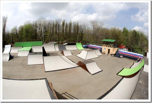 Идеальный скейт-парк от XSA Ramps