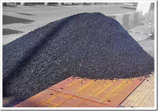 Прочность покрытия зависит от песчано-щебенной подушки