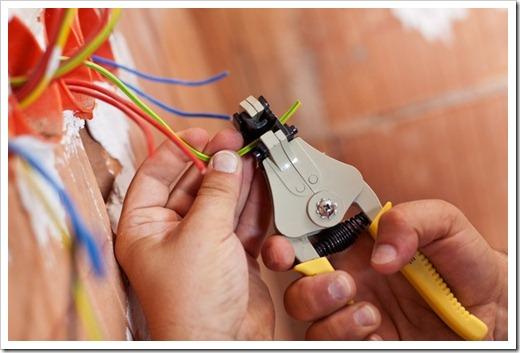 Доработка электрической проводки и гидроизоляция ванной комнаты