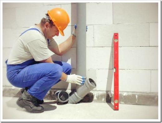 Замена труб водопровода