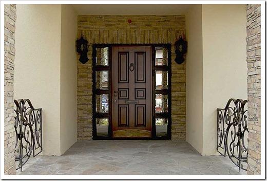 Виды существующих отделок входных дверей