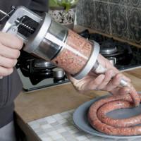 Как набить колбасу