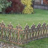 Как установить газонные ограждения