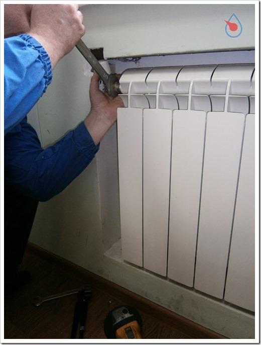 Самостоятельная замена радиаторов отопления – сплошные проблемы