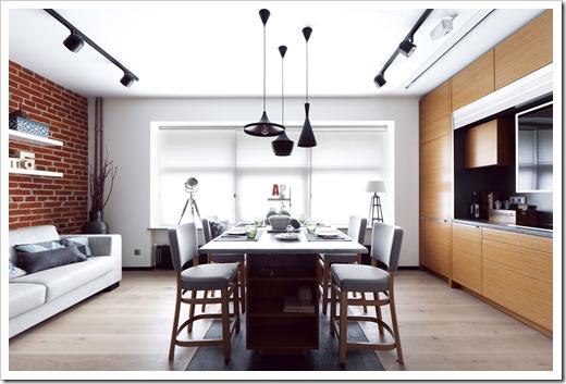 Дизайн и светильники в стиле лофт