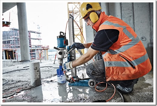 Принципы алмазного сверления бетона