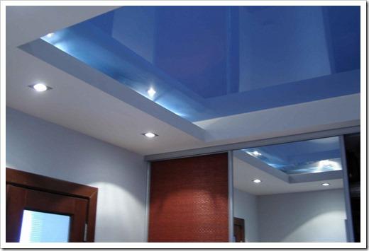 Виды и свойства натяжных потолков
