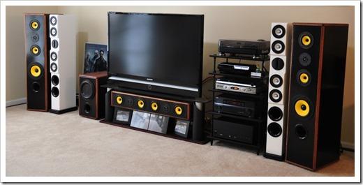 Из чего состоит бытовая акустическая система?